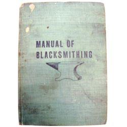 Manual of Blacksmithing Hardcover by Morton