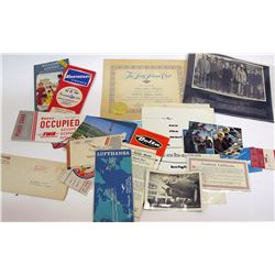 Commercial Airlines Ephemera