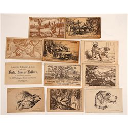 US Trade Puzzle Cards