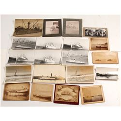 Miscellaneous Ship Photographs, c.1875-1920s