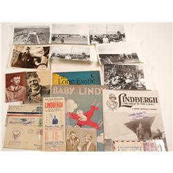 Charles Lindbergh Ephemera Collection