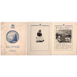 1915 Royal Copenhagen Porcelain Works Pamphlet