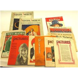 Early Magazines incl. Hollywood