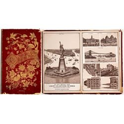 c.1890 Principal Cities of the World Pictorial Hardcover
