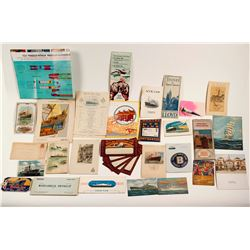 Foreign Ship & Cruise Line Ephemera
