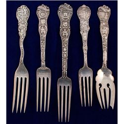 Five Sterling Mining Forks