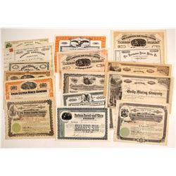 Maine Mining Certificates (15)