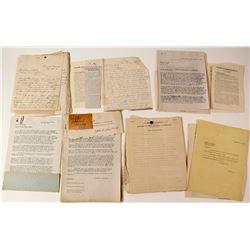 Umatilla Tonopah Mining Co. (Letters & Minutes)