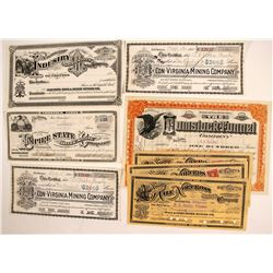 Comstock Mining Certificates (8)
