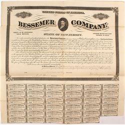 Bessemer Co $500, 7% Bond