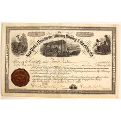 New York and Providence Mining, Milling & Smelting Certificate (Dakotas)