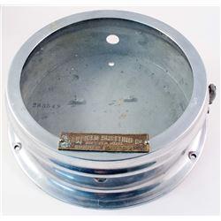 Aluminum Clock Case with Garfield, Utah Mining Tag