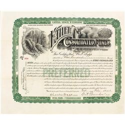 Ethel Consolidated Mines Stock Certificate