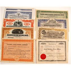 Canadian Mining Stock Certificates (13)