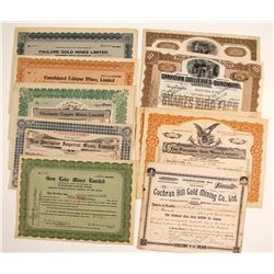 Canadian Mining Stock Certificates (9)