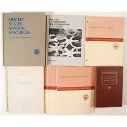 US Mineral Resource Books and Booklets (11)