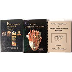 Canada Minerals (3 books)