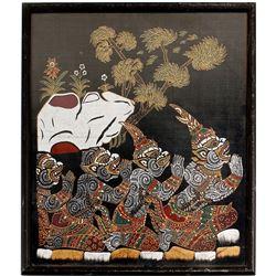 Tibetan Art Fabric