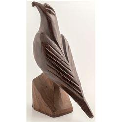 Carved Ironwood Eagle