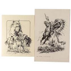 Two Native American Prints