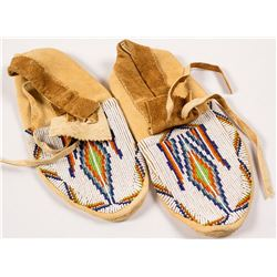 Men's Beaded Moccasins