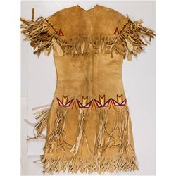 Paiute Beaded Buckskin Dress