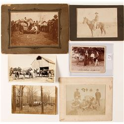 Oklahoma Cowboy Photo Collection