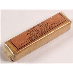 .45 caliber M1911 Pistol cartridges