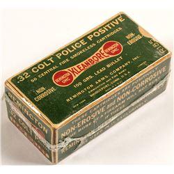 .32 caliber Colt Police Positive ammunition
