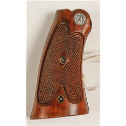 Smith & Wesson walnut grips vintage K frame