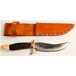 Handmade Sheath Knife with sheath