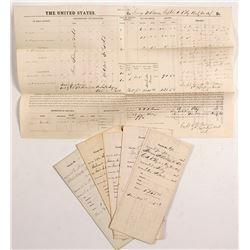 Kentucky Civil War Union Officer Pay Vouchers