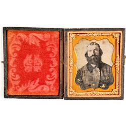Ambrotype of Confederate Soldier
