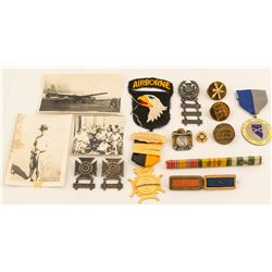Military Badges and Ribbons