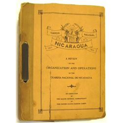 Review of Organizations and Operations of Guardia Nacional de Nicaragua
