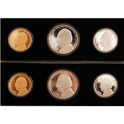 Yitzhak Rabin Commemorative Coin Sets