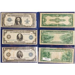 Three Large Size Notes