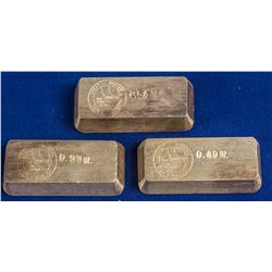 Great Western C & B Co. Silver Ingots