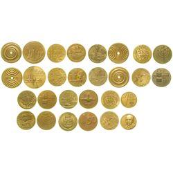 Fourteen Israel Medals