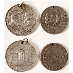 Cleveland White House & Foreign Exposition Medals