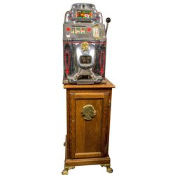 Jennings Chief Five Cents Slot Machine