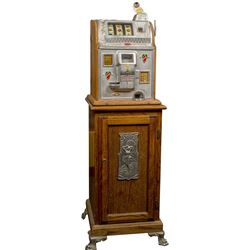 Mills 25 Cent Slot Machine, Rockolla front