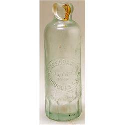 Home Soda Works Bottle, Douglas, Arizona Territory