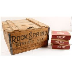 Soda Company Wooden Box