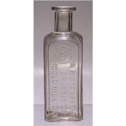 A.B Stewart & Co. Bottle, Gold Hill, Nevada