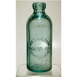 Washington Liquor Company Soda Bottle