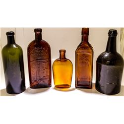 19th century Alcohol-based Potions in Bottles