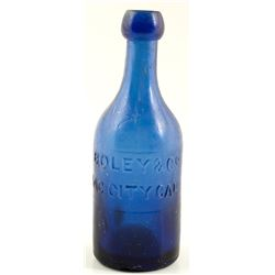 Boley & Co. Soda Bottle, Sac City, California
