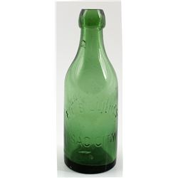 E. L. Billing's Soda Bottle, Sac City, California