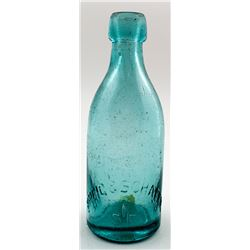 Breig & Schafer Soda Bottle, San Francisco